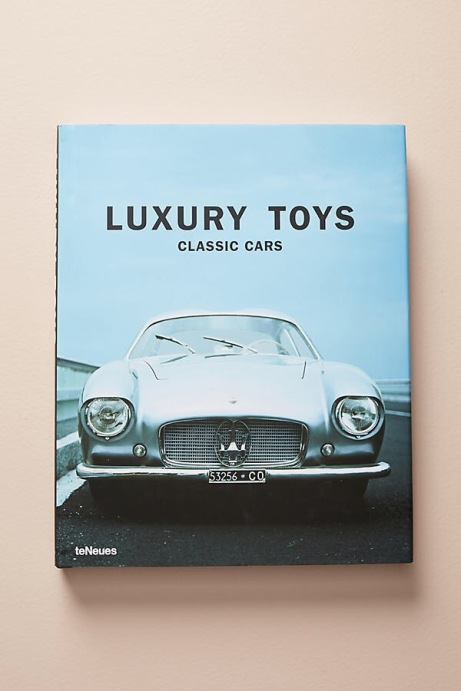 Luxury Toys Classic Cars Book