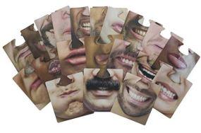 Hilarious Face Coasters
