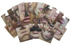 Hilarious Face Coasters
